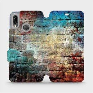 Flipové pouzdro Mobiwear na mobil Huawei P20 Lite - V061P Zeď