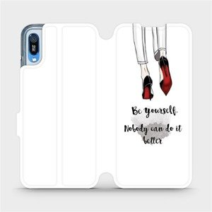 Flipové pouzdro Mobiwear na mobil Huawei Y6 2019 - M046P Be yourself