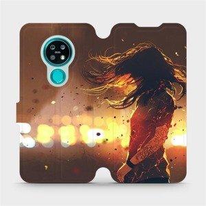 Flipové pouzdro Mobiwear na mobil Nokia 7.2 - MA02S Tetovaná dívka