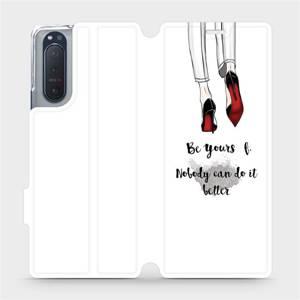 Flipové pouzdro Mobiwear na mobil Sony Xperia 5 II - M046P Be yourself