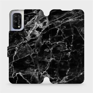 Flipové pouzdro Mobiwear na mobil Realme 7 5G - V056P Černý mramor