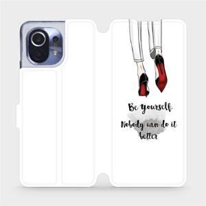 Flipové pouzdro Mobiwear na mobil Xiaomi Mi 11 - M046P Be yourself