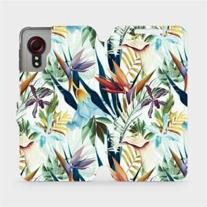 Flipové pouzdro Mobiwear na mobil Samsung Galaxy Xcover 5 - M071P Flóra