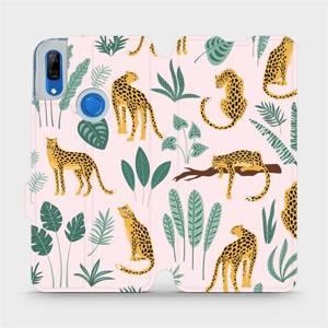 Flip pouzdro Mobiwear na mobil Huawei P Smart Z - MP07S Leopardi