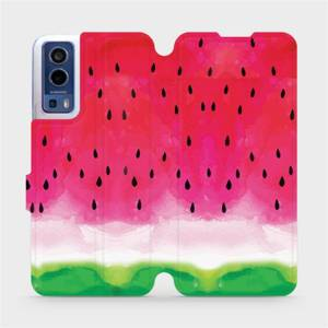 Flip pouzdro Mobiwear na mobil Vivo Y72 5G / Vivo Y52 5G - V086S Melounek