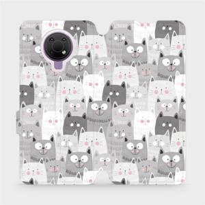 Flip pouzdro Mobiwear na mobil Nokia G10 - M099P Kočičky
