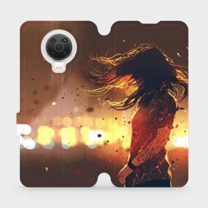 Flip pouzdro Mobiwear na mobil Nokia G20 - MA02S Tetovaná dívka