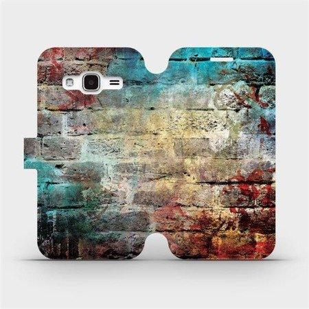 Flipové pouzdro Mobiwear na mobil Samsung Galaxy J3 2016 - V061P Zeď