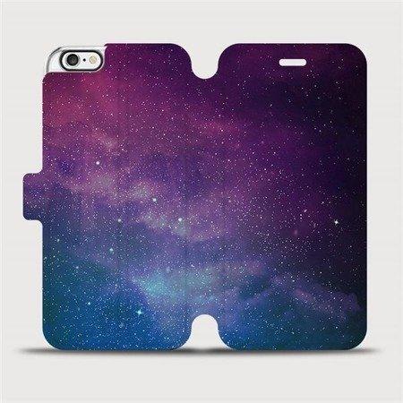 Flipové pouzdro Mobiwear na mobil Apple iPhone 6 / iPhone 6s - V147P Mlhovina