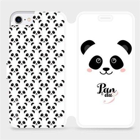Flipové pouzdro Mobiwear na mobil Apple iPhone 7 - M030P Panda Amálka