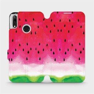 Flipové pouzdro Mobiwear na mobil Huawei Y7 2019 - V086S Melounek