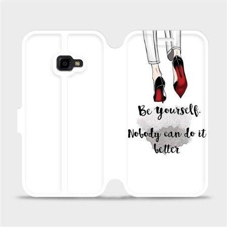 Flipové pouzdro Mobiwear na mobil Samsung Xcover 4 - M046P Be yourself