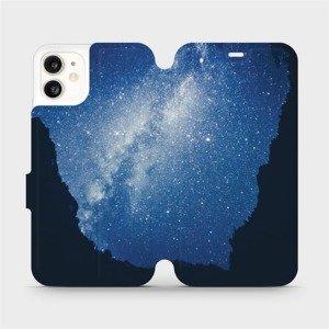 Flipové pouzdro Mobiwear na mobil Apple iPhone 11 - M146P Galaxie