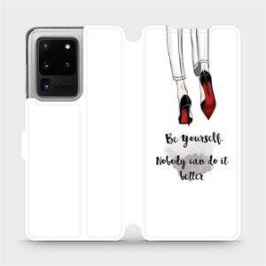 Flipové pouzdro Mobiwear na mobil Samsung Galaxy S20 Ultra - M046P Be yourself