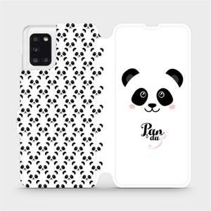Flipové pouzdro Mobiwear na mobil Samsung Galaxy A31 - M030P Panda Amálka