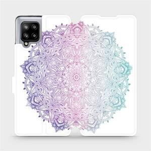 Flipové pouzdro Mobiwear na mobil Samsung Galaxy A42 5G - M008S Mandala