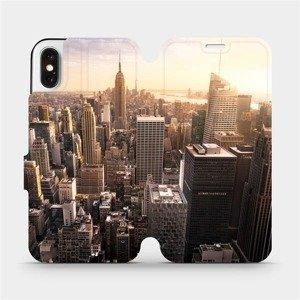 Flipové pouzdro Mobiwear na mobil Apple iPhone X - M138P New York