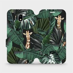Flip pouzdro Mobiwear na mobil Samsung Galaxy J5 2017 - VP06P Žirafky