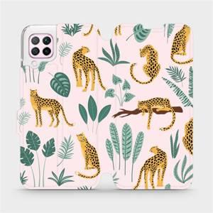 Flip pouzdro Mobiwear na mobil Huawei P40 Lite - MP07S Leopardi