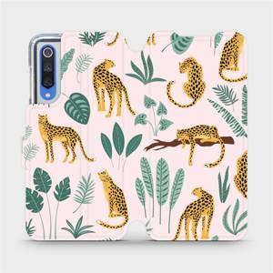 Flip pouzdro Mobiwear na mobil Xiaomi Mi 9 SE - MP07S Leopardi