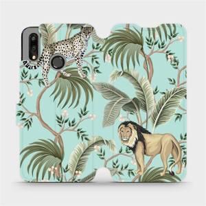 Flip pouzdro Mobiwear na mobil Huawei P Smart 2019 - MP08S Dvě kočičky - výprodej