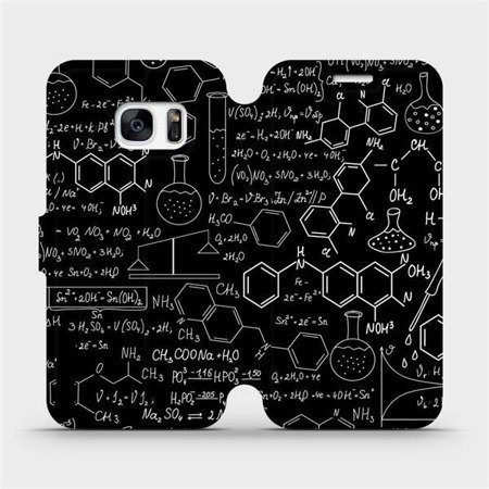 Flipové pouzdro Mobiwear na mobil Samsung Galaxy S7 Edge - V060P Vzorečky