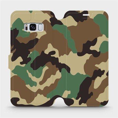 Flipové pouzdro Mobiwear na mobil Samsung Galaxy S8 - V111P Maskáče