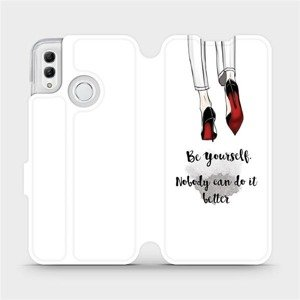 Flipové pouzdro Mobiwear na mobil Honor 10 Lite - M046P Be yourself