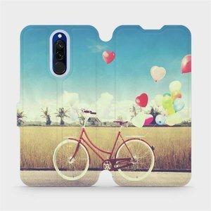 Flipové pouzdro Mobiwear na mobil Xiaomi Redmi 8 - M133P Kolo a balónky