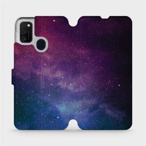 Flipové pouzdro Mobiwear na mobil Samsung Galaxy M21 - V147P Mlhovina