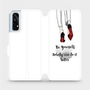 Flipové pouzdro Mobiwear na mobil Realme 7 - M046P Be yourself