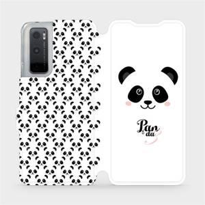 Flipové pouzdro Mobiwear na mobil Vivo Y70 - M030P Panda Amálka