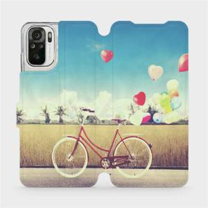 Flipové pouzdro Mobiwear na mobil Xiaomi Redmi Note 10S - M133P Kolo a balónky
