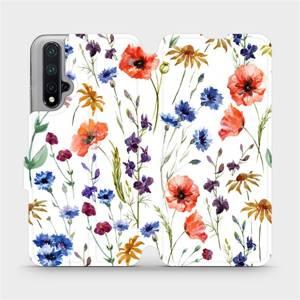 Flip pouzdro Mobiwear na mobil Honor 20 - MP04S Luční kvítí