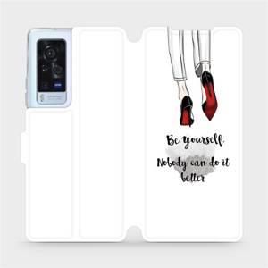 Flip pouzdro Mobiwear na mobil Vivo X60 Pro 5G - M046P Be yourself
