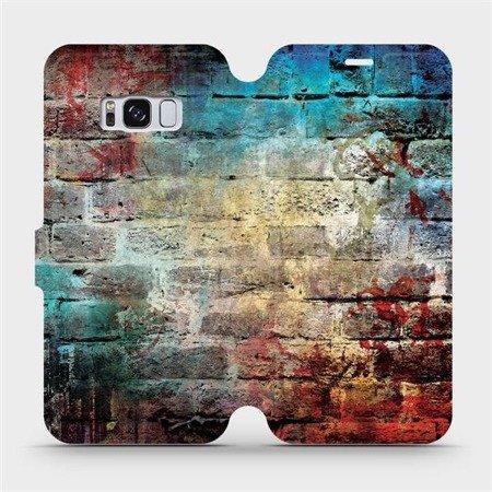 Flipové pouzdro Mobiwear na mobil Samsung Galaxy S8 - V061P Zeď