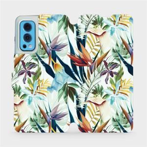 Flip pouzdro Mobiwear na mobil OnePlus Nord 2 5G - M071P Flóra