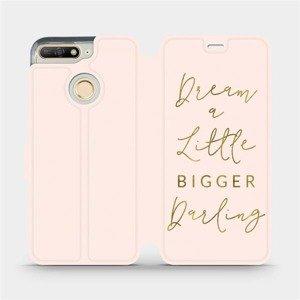 Flipové pouzdro Mobiwear na mobil Huawei Y6 Prime 2018 - M014S Dream a little
