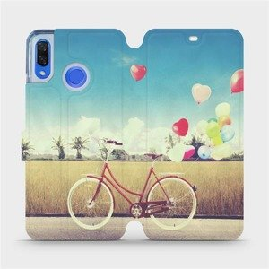 Flipové pouzdro Mobiwear na mobil Huawei Nova 3 - M133P Kolo a balónky