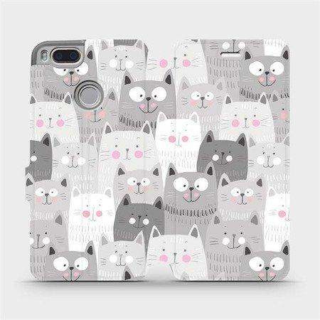 Flipové pouzdro Mobiwear na mobil Xiaomi Mi A1 - M099P Kočičky