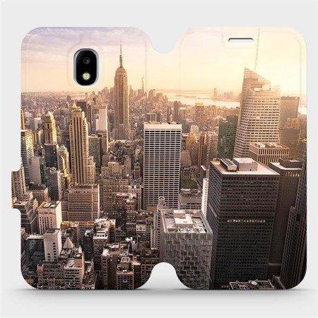 Flipové pouzdro Mobiwear na mobil Samsung Galaxy J3 2017 - M138P New York