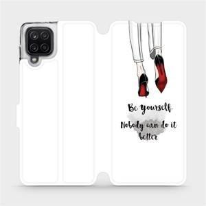 Flipové pouzdro Mobiwear na mobil Samsung Galaxy A12 - M046P Be yourself