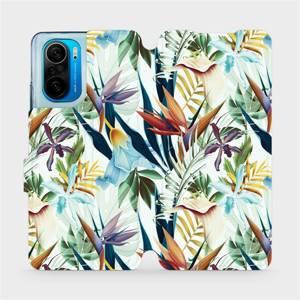 Flipové pouzdro Mobiwear na mobil Xiaomi Mi 11i / Xiaomi Poco F3 - M071P Flóra