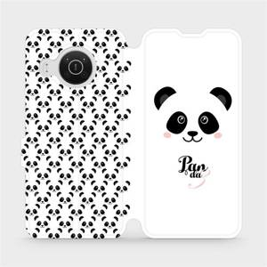 Flip pouzdro Mobiwear na mobil Nokia X10 - M030P Panda Amálka