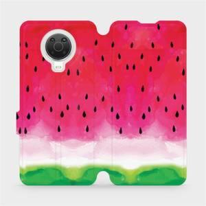 Flip pouzdro Mobiwear na mobil Nokia G20 - V086S Melounek
