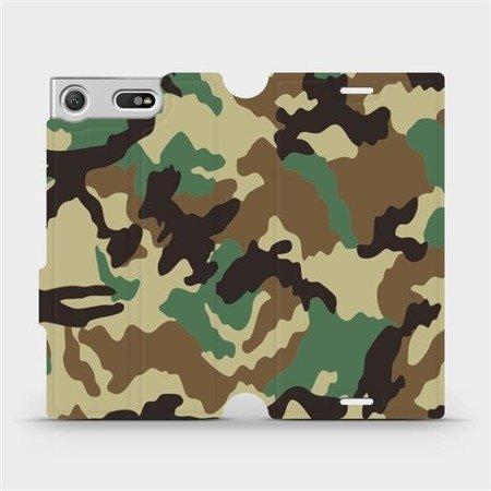 Flipové pouzdro Mobiwear na mobil Sony Xperia XZ1 Compact - V111P Maskáče