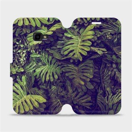 Flipové pouzdro Mobiwear na mobil Samsung Xcover 4 - V136P Zelená stěna z listů