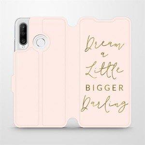 Flipové pouzdro Mobiwear na mobil Huawei P30 Lite - M014S Dream a little