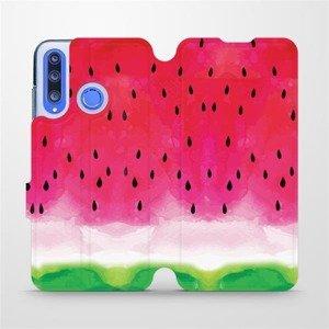 Flipové pouzdro Mobiwear na mobil Honor 20 Lite - V086S Melounek