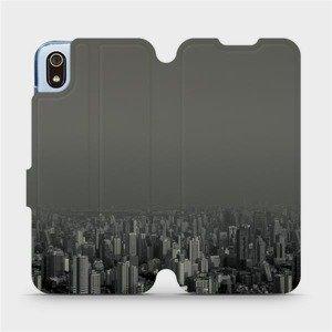 Flipové pouzdro Mobiwear na mobil Xiaomi Redmi 7A - V063P Město v šedém hávu
